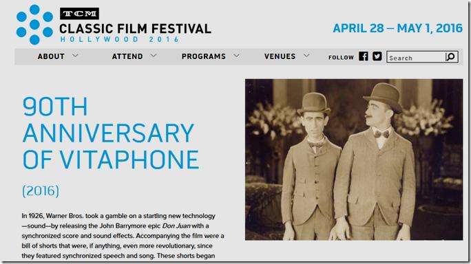 TCM Classic Film Festiva