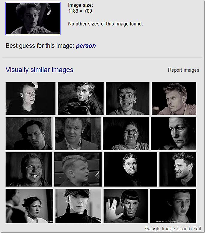 Google Image Search Fail