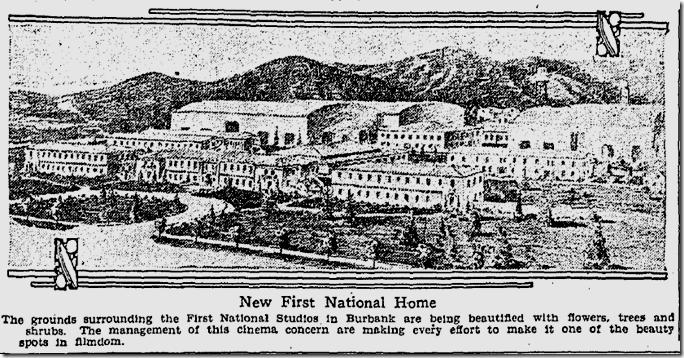 Oct. 3, `916, First National Studios