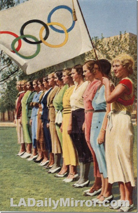 1932 Olympics, women athletes