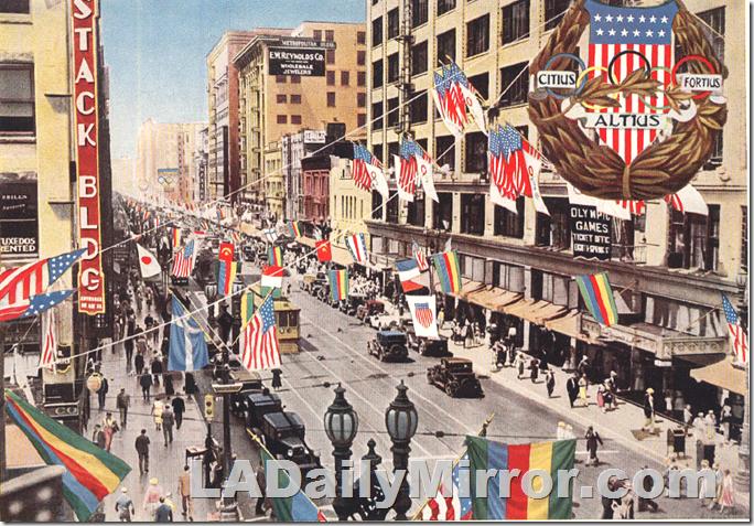 Broadway, 1932 Olympics