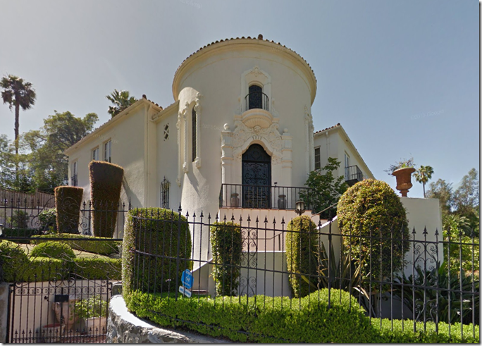 2212 Hollyridge Drive, via Google Street View