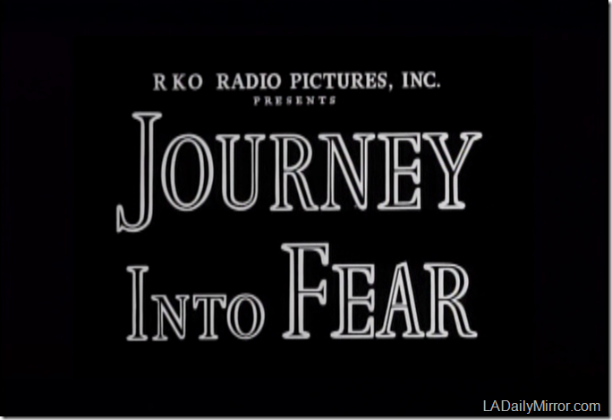 Oct. 15, 2016, Journey Into Fear