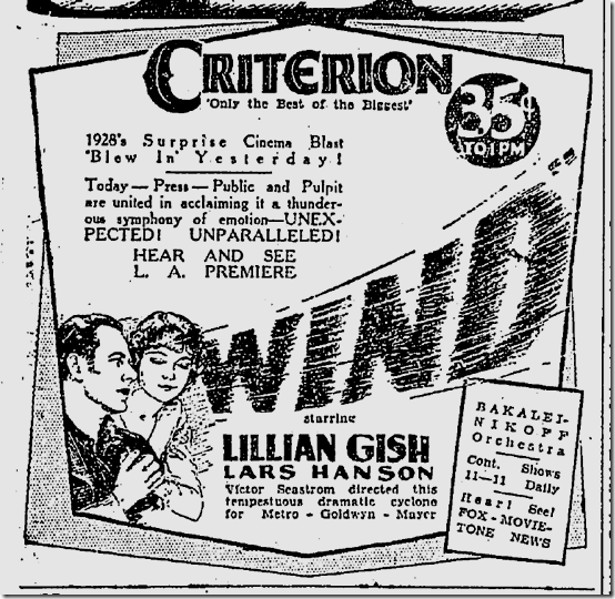 Dec. 14, 1928, The Wind