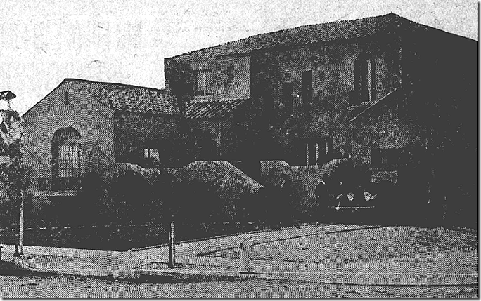 Electric Adobe, 1921