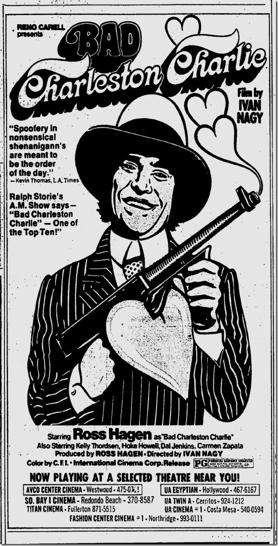 May 11, 1973, Bad Charleston Charlie