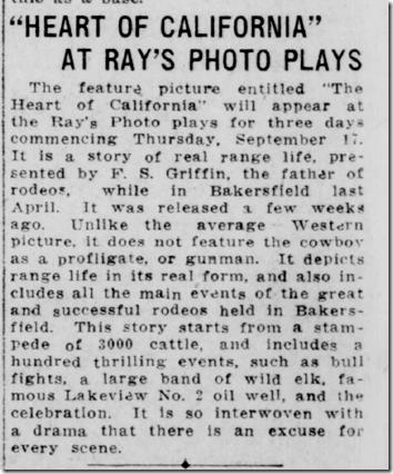 Sacramento Union, Sept. 17, 1914