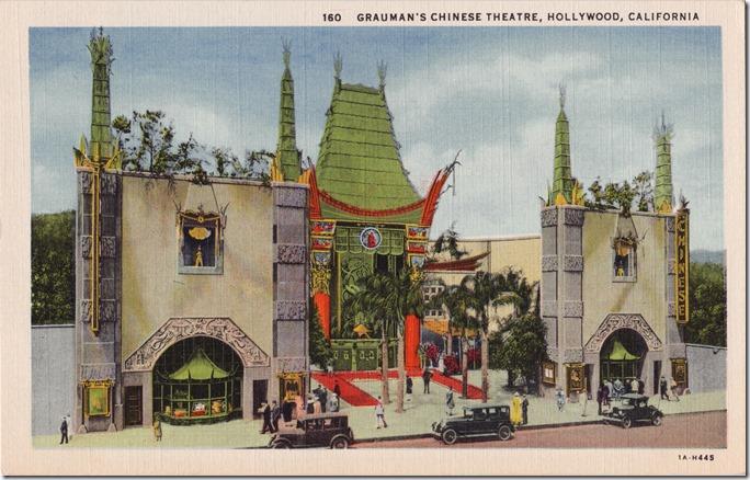 Grauman's Postcard