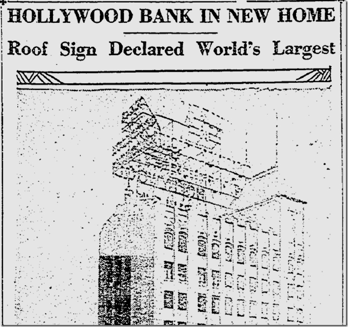 May 29, 1929, Neon Sign