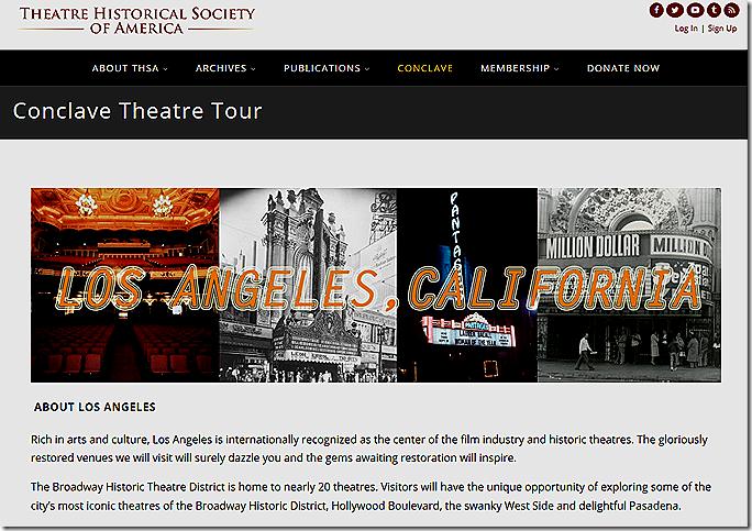 Theater tour