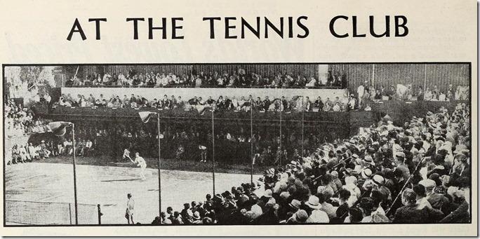 The Los Angeles Tennis Club, Modern Screen