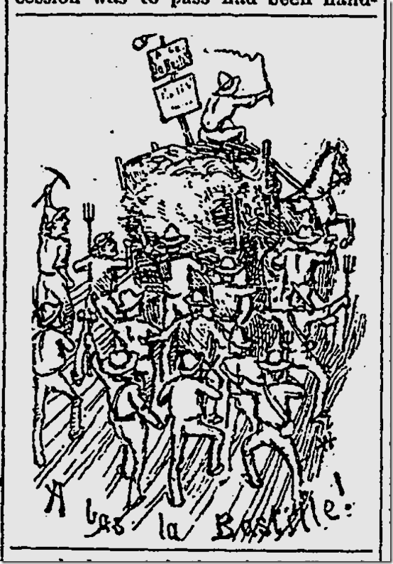 Bastille Day Centennial, 1889