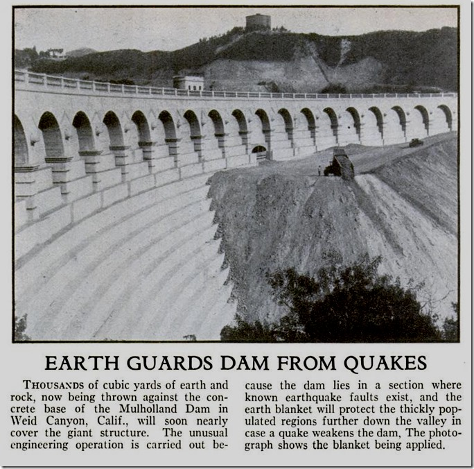 Mulholland Dam 1934