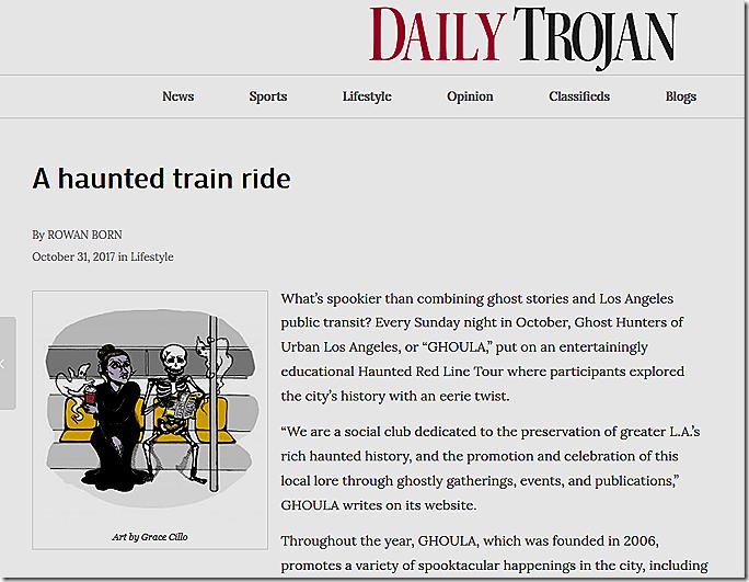 Oct. 31, 2017, Daily Trojan