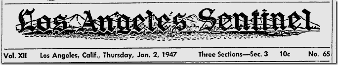 Jan. 2, 1947, Los Angeles Sentinel