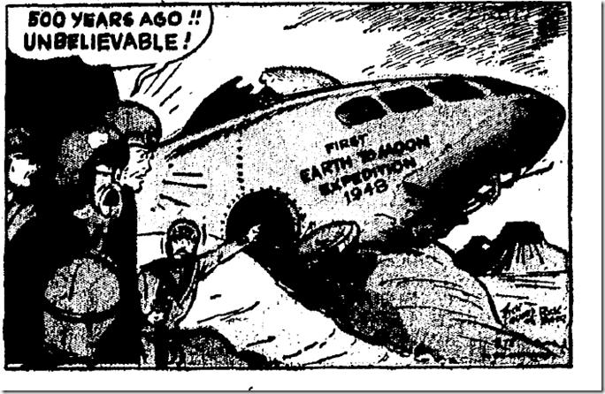 Jan. 5, 1947, Buck Rogers