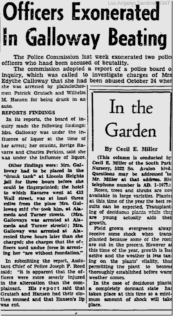 Jan. 9, 1947, Sentinel