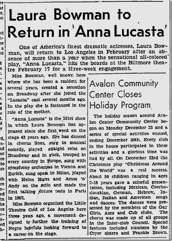 Jan. 9, 1947, Los Angeles Sentinel