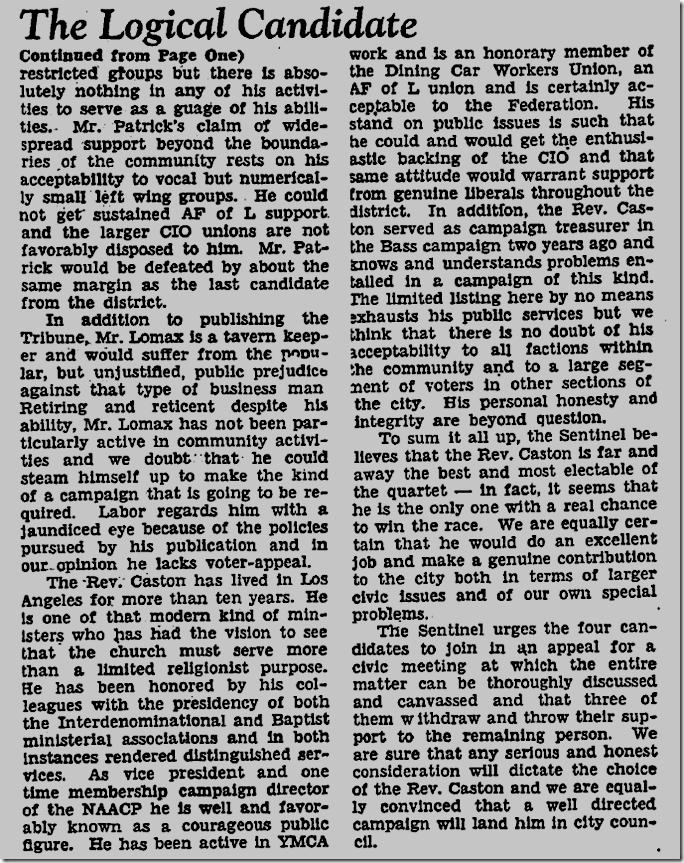 Jan. 30, 1947, 7th Council District