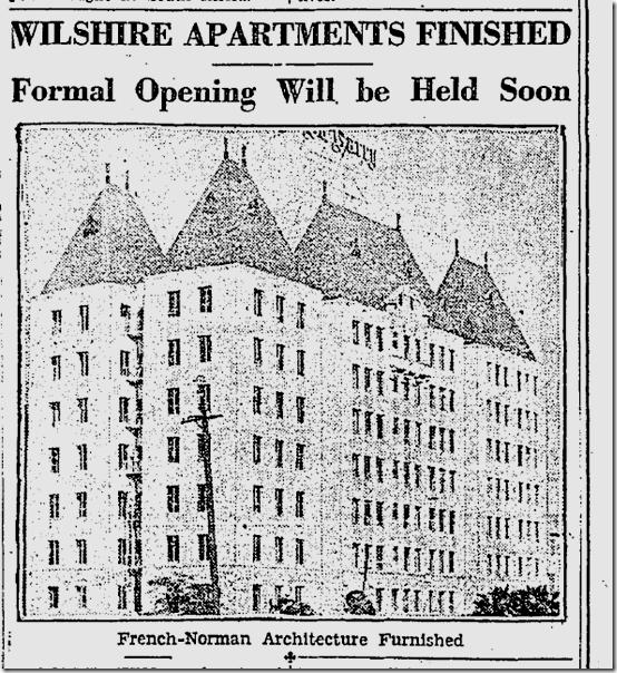 Dec. 8, 1929, Du Barry Apartments