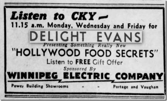Delight Evans Radio Ad