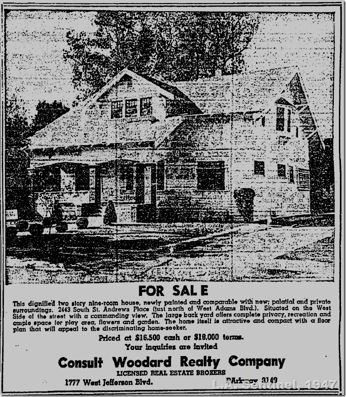 Feb. 13, 1947, Real Estate
