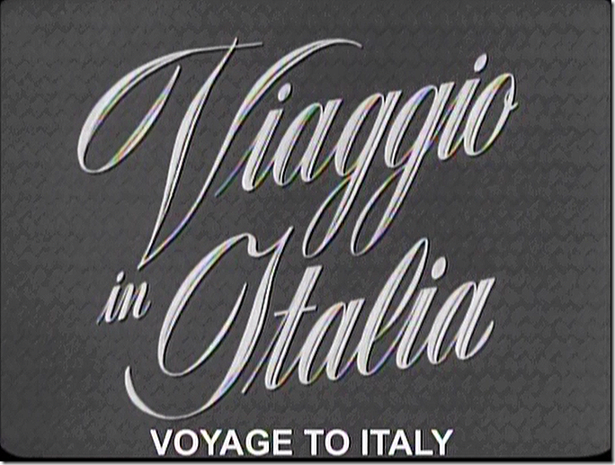 Voyage to Italy/Journey to Italy