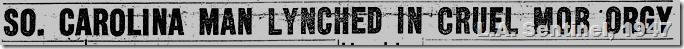 Feb. 20, 1947, Lynching