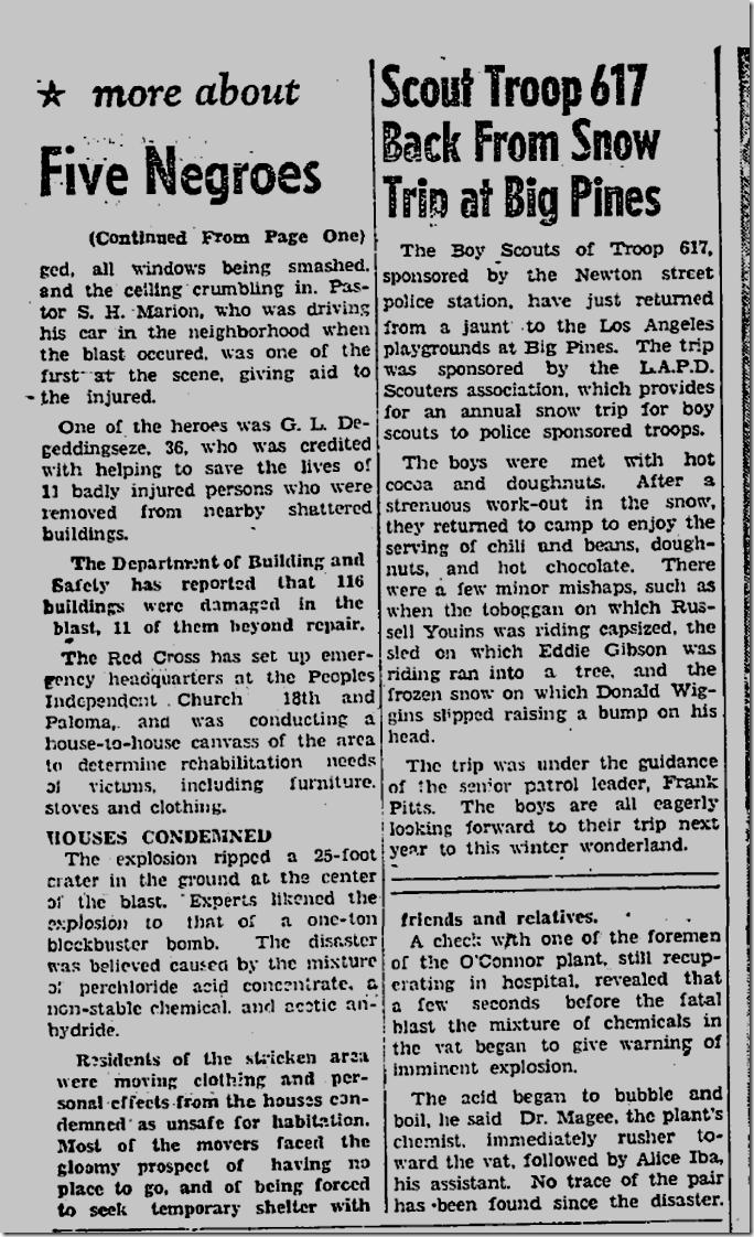 Feb. 27, 1947, O'Conorr Electroplating blast