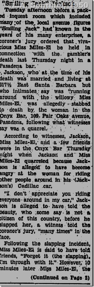 June 1950, L.A. Sentinel