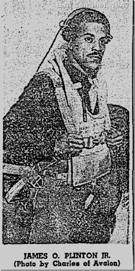 April 3, 1947, James O. Plinto Jr.