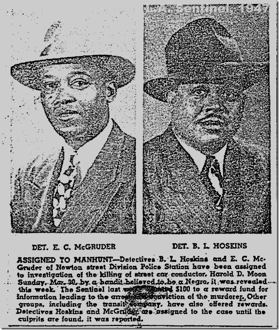 April 10, 1947, Detectives