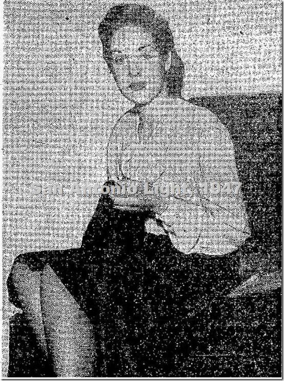 Karla Galarza, 1947, San Antonio LIght