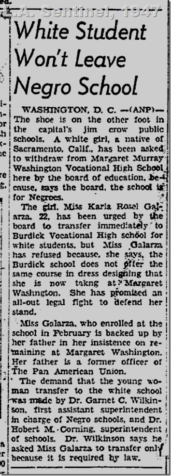 April 10, 1947, White Student