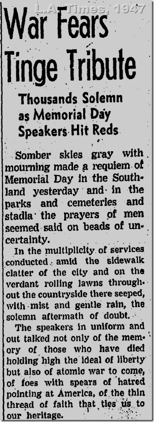 May 31, 1947, L.A. Times