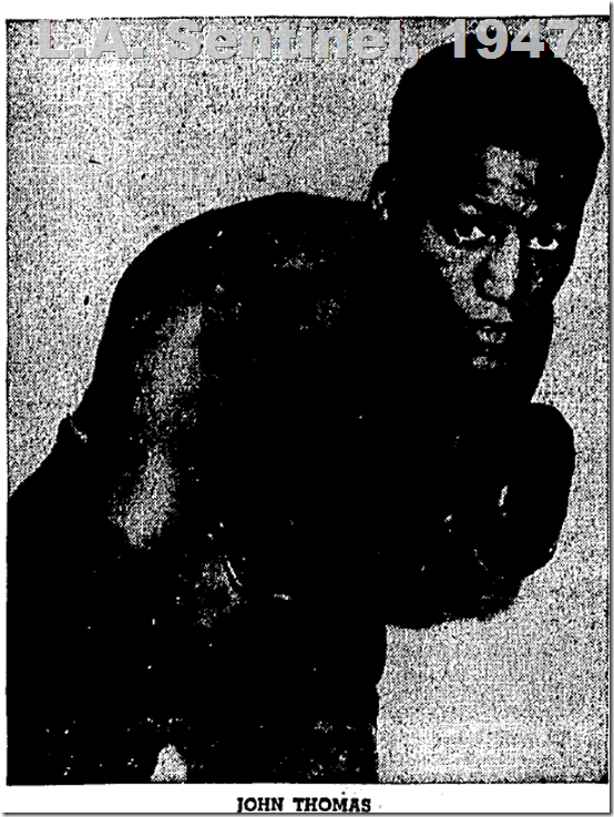John Thomas, 1947