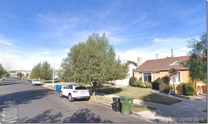 South Norton Avenue, Google Street View