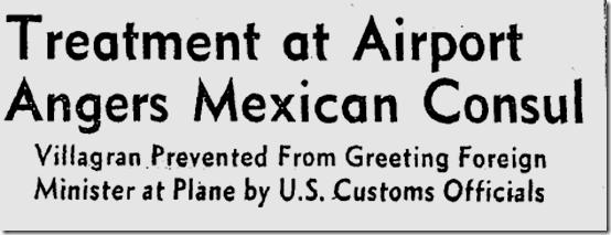 June 13, 1947, International Incident