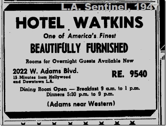 Hotel Watkins
