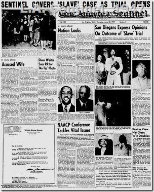 June 26, 1947, L.A. Sentinel