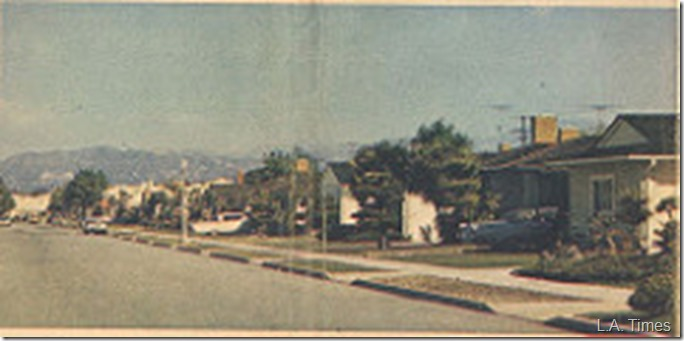 Norton Avenue, 1971, Wrong Side of Street