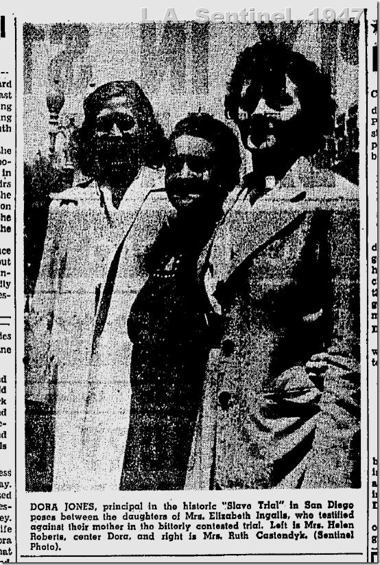 July 17, 1947, Dora Jones
