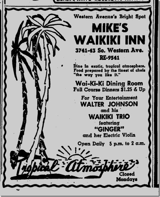 Mike's Waikiki In