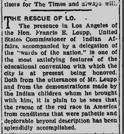 July 10, 1907, Editorial