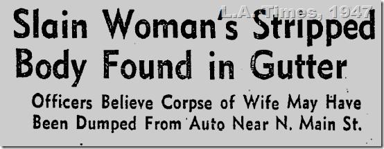 July 9, 1947, Rosenda Mondragon