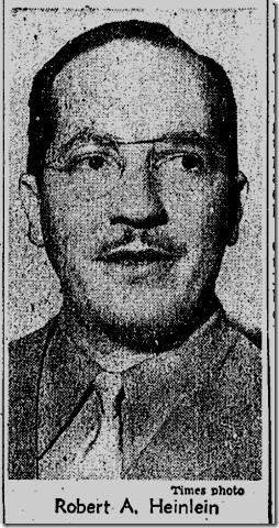 May 6, 1948, Robert Heinlein