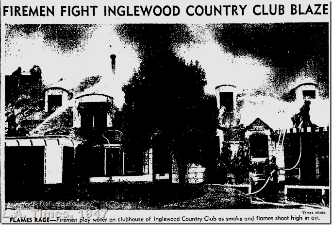 Aug. 25, 1947, Inglewood Fire, L.A. Times