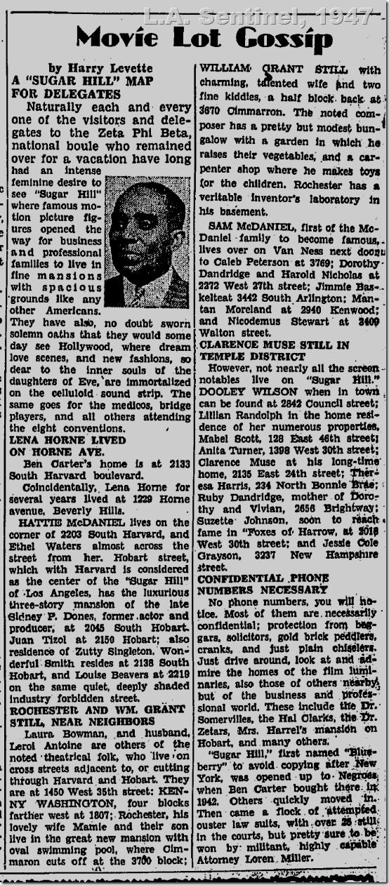 L.A. Sentinel, Aug. 21, 1947