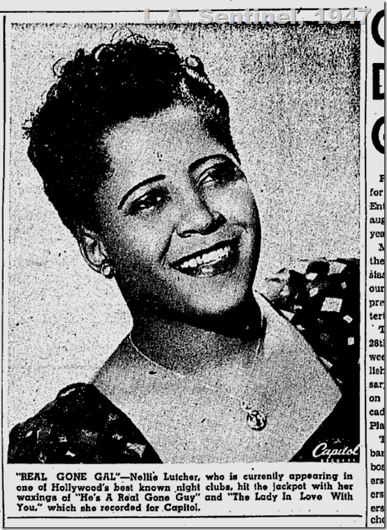 Aug. 21, 1947, Nellie Lutcher