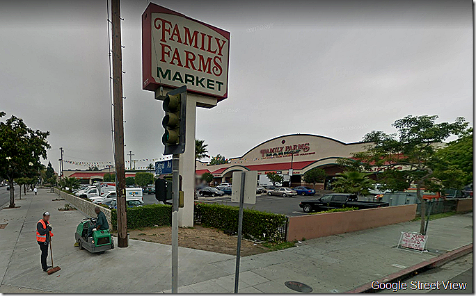 43rd and Central, Los Angeles, via Google Street View